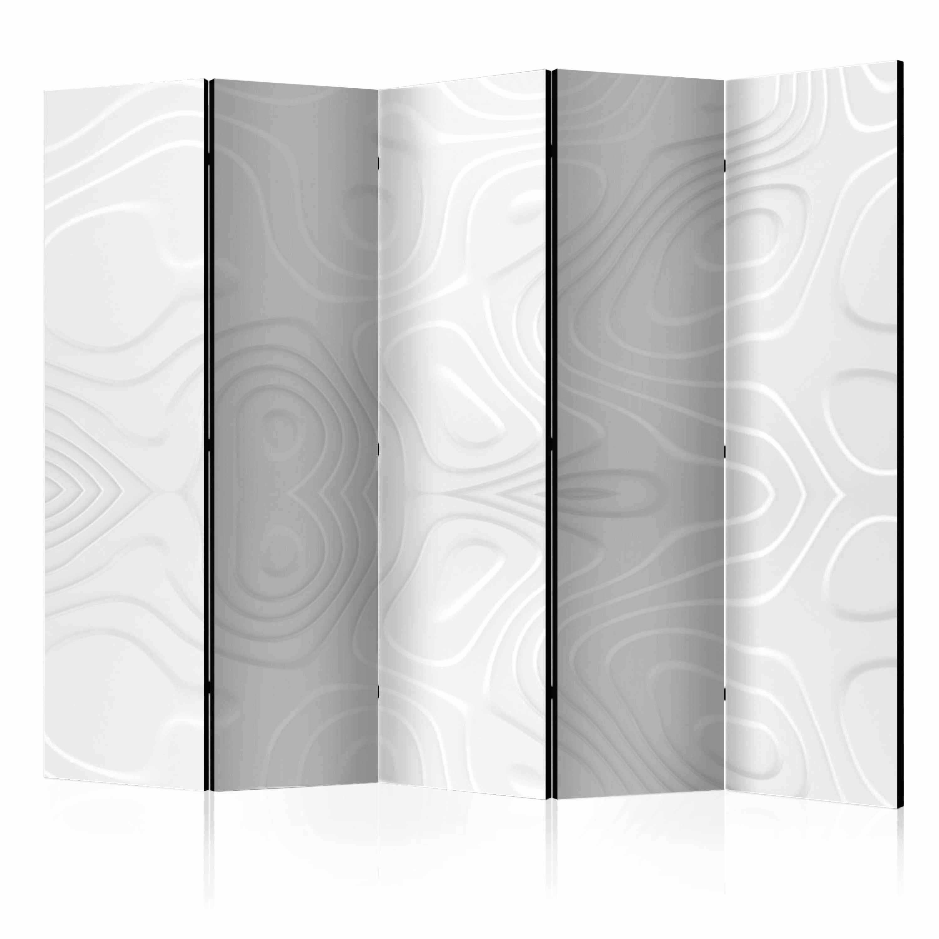 Image of   ARTGEIST Skærmvæg - Room divider - White waves II