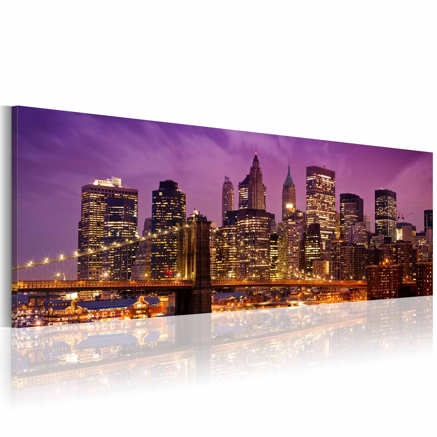 Image of   ARTGEIST Billede - Canvas print - Night in New York