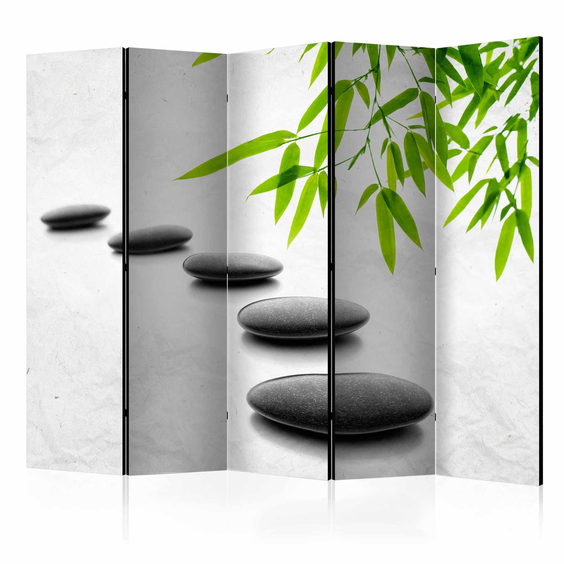 Image of   ARTGEIST Skærmvæg - Zen Stones II [Room Dividers]