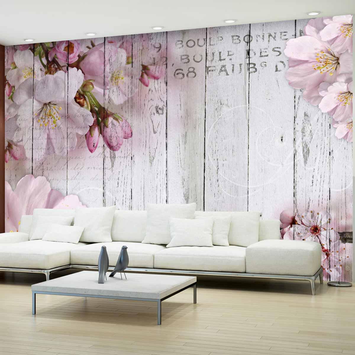 artgeist Artgeist apple blossoms fototapet - multifarvet print (105x150) på boboonline.dk