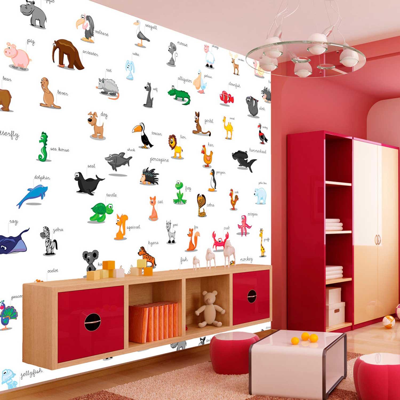 Artgeist animals fototapet til børn - multifarvet print (309x400) fra artgeist fra boboonline.dk