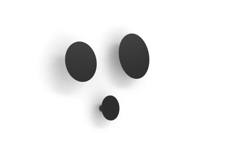 jensenplus – Jensenplus fm hooks knagerække, sort, pulverlakeret stål fra boboonline.dk