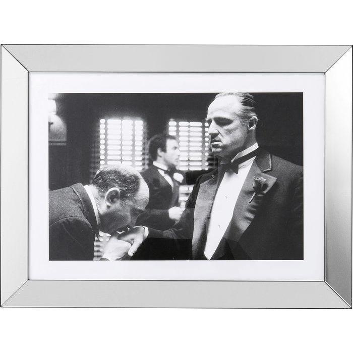 Image of   KARE DESIGN Billede, Frame Godfather 60 x 80 cm