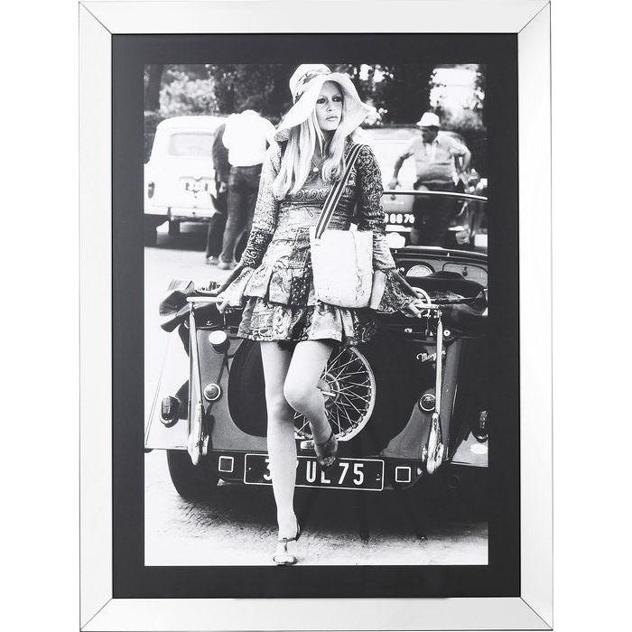 Image of   KARE DESIGN Billede, Frame French Diva 120 x 90 cm