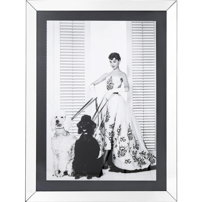 Image of   KARE DESIGN Billede, Frame Princess Diva 120 x 90 cm