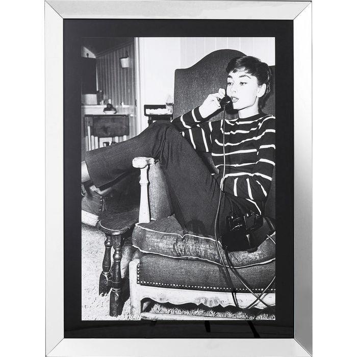 Image of   KARE DESIGN Billede, Frame Relaxing Diva 120 x 90 cm
