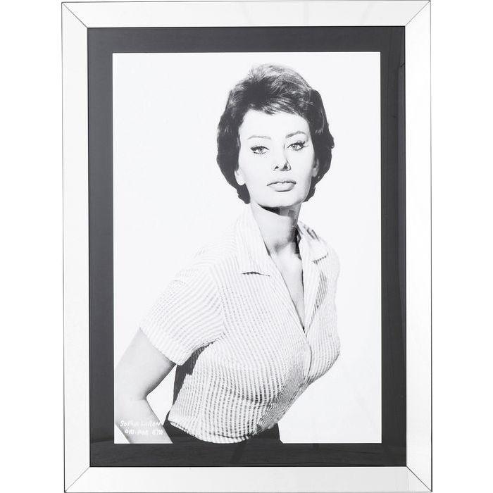 Image of   KARE DESIGN Billede, Frame Italian Diva 120 x 90 cm