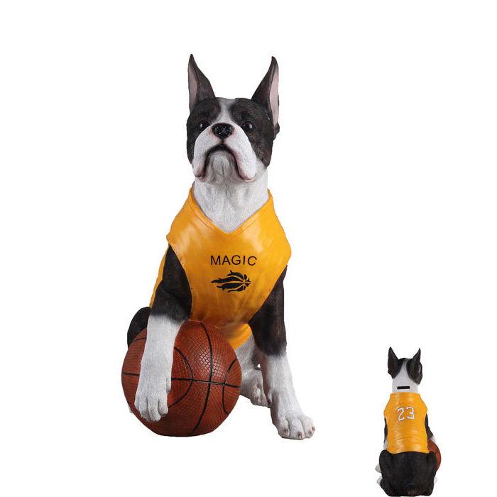 Kare design sparebøsse basketball dog