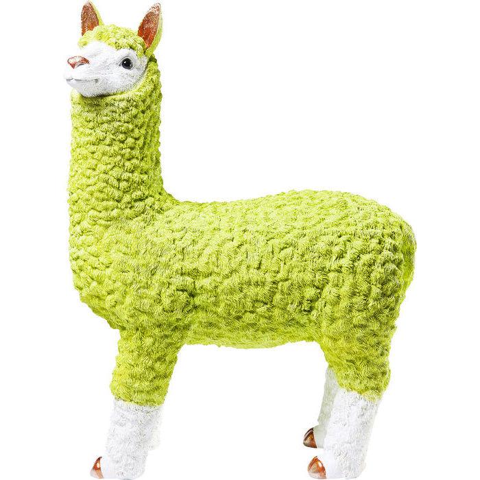 Kare design sparebøsse alpaca lime 62 cm