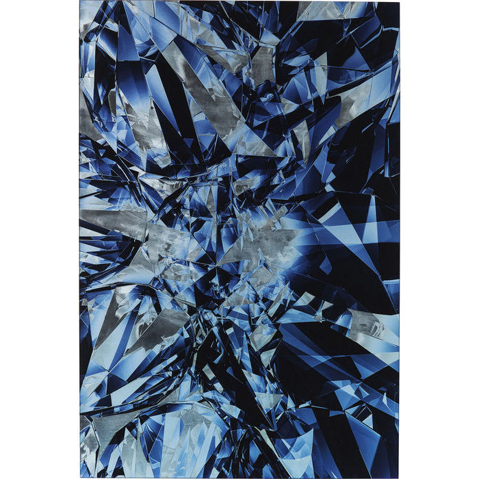 Image of   KARE DESIGN Billede, Glass Diamonds 80 x 120 cm