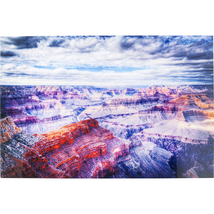 Image of   KARE DESIGN Billede, Glass Grand Canyon 120 x 180 cm