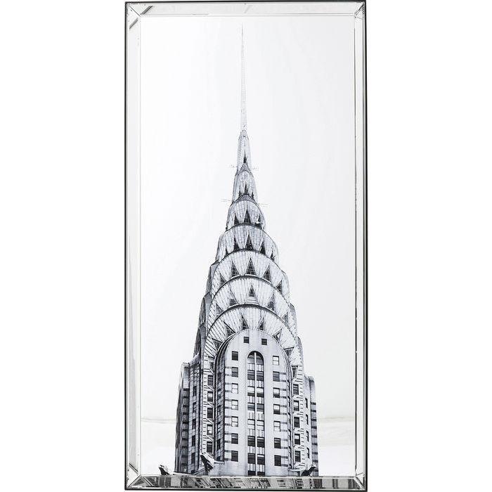 kare design Kare design billede, mirror chrysler building 120 x 60 cm fra boboonline.dk