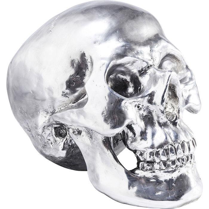 KARE DESIGN Figur, Head Skull 28 cm