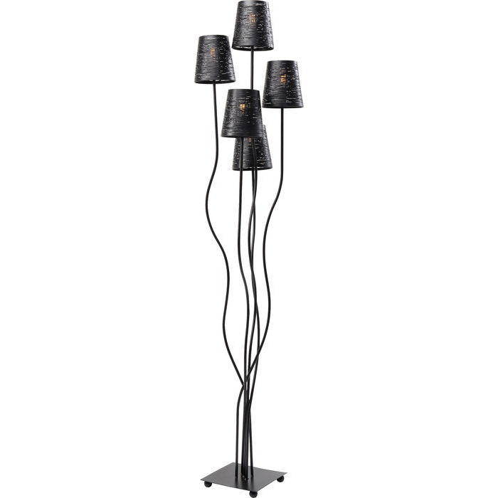 KARE DESIGN Gulvlampe Flexible Black Cinque