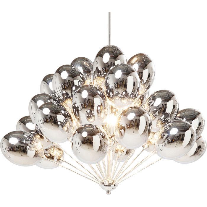 Image of   KARE DESIGN Loftslampe, Balloons Sølv
