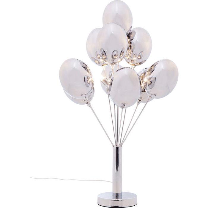 Image of   KARE DESIGN Bordlampe, Silver Balloons