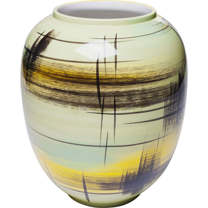 Image of   KARE DESIGN Vase Arte Colore Gul Stor