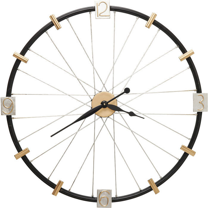 Kare design vægur, spoke wheel 80 cm fra kare design på boboonline.dk