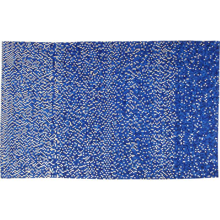 Image of   KARE DESIGN Gulvtæppe Pixel Blå 170 x 240 cm