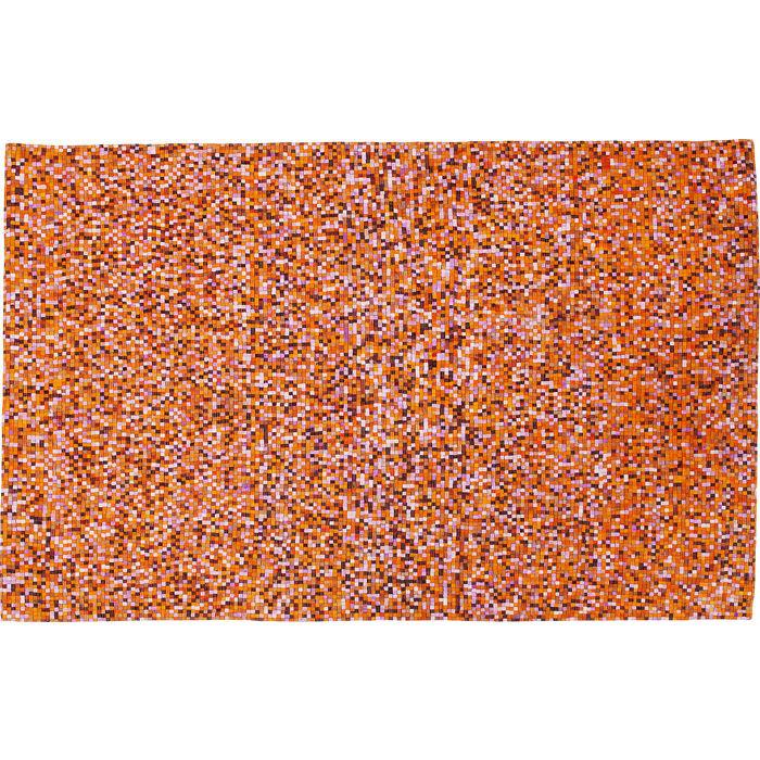 KARE DESIGN Gulvtæppe Pixel Orange Multi 170 x 240 cm