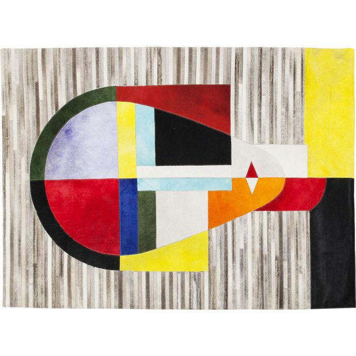 Image of   KARE DESIGN Gulvtæppe Face Construct 170 x 240 cm