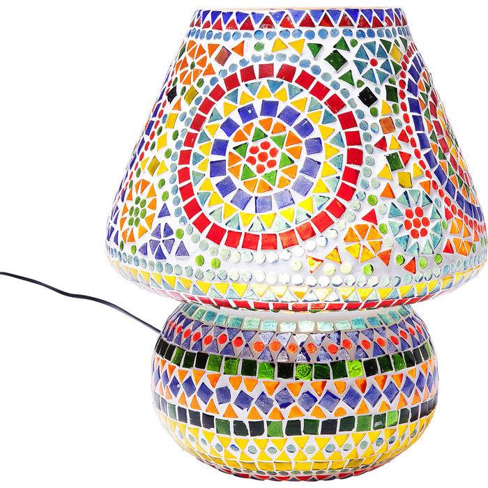 Image of   KARE DESIGN Bordlampe, Mosaic Colore 33 cm