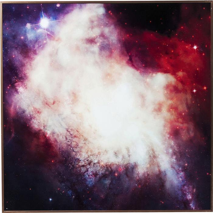 Image of   KARE DESIGN Billede, Frame Alu Big Bang 80 x 80 cm