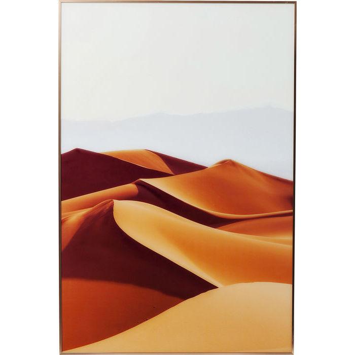 Image of   KARE DESIGN Billede, Frame Alu Desert Dunes 80 x 120 cm