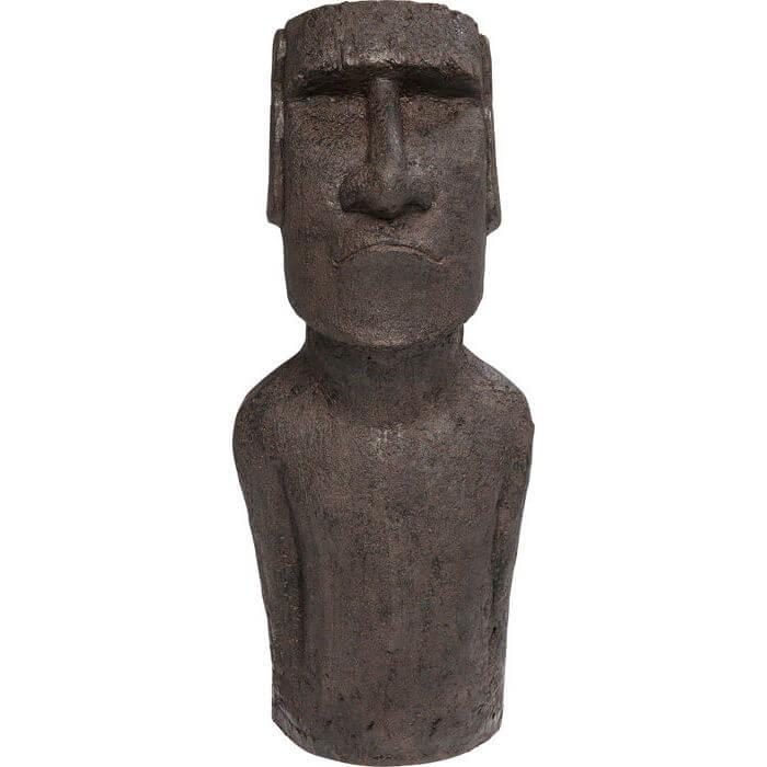 kare design – Kare design easter island skulptur - håndlavet stentøj, 80 cm på boboonline.dk