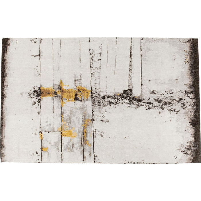 KARE DESIGN Gulvtæppe Abstract Grå Line 300 x 200 cm