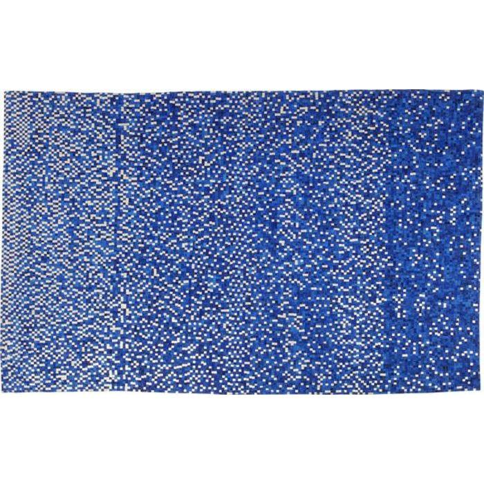 Image of   KARE DESIGN Gulvtæppe Pixel Blå 300 x 200 cm
