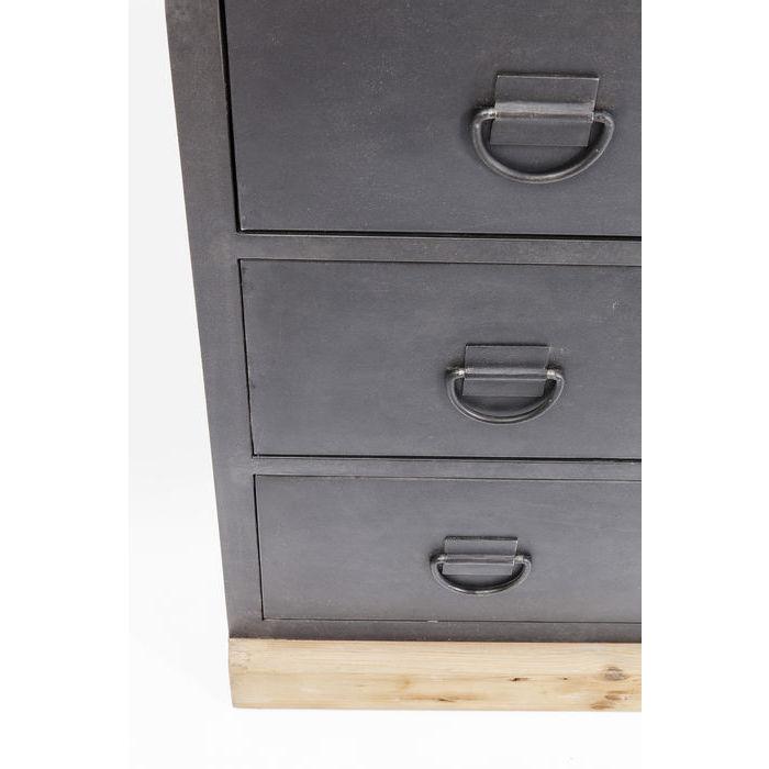 kare design kommode huckster 3 skuffer kommoder bobo. Black Bedroom Furniture Sets. Home Design Ideas