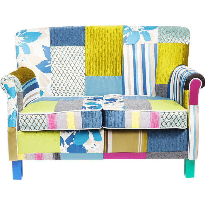 KARE DESIGN Sofa Patchwork Stripes 2-personers