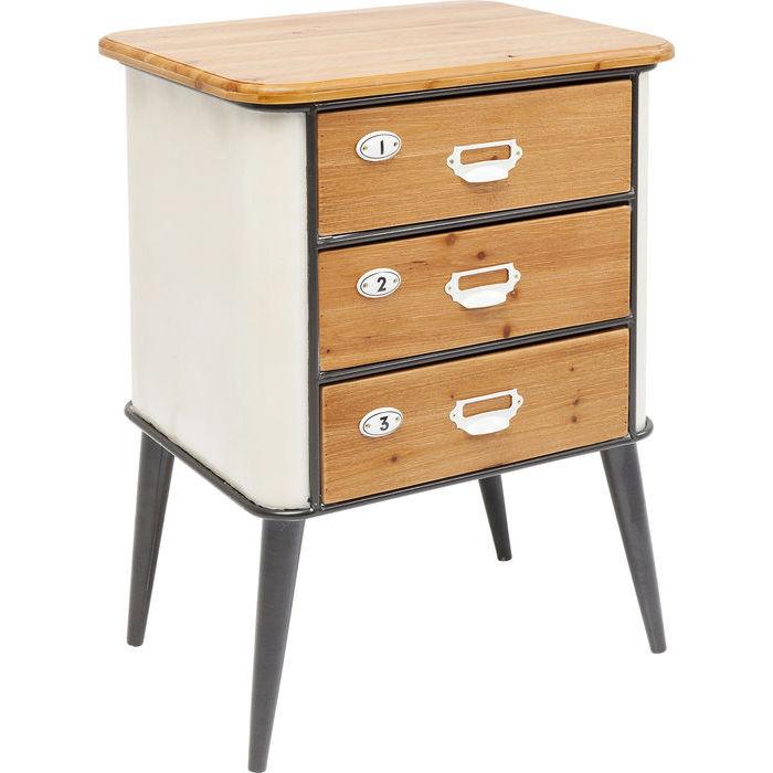 kare design kommode grannys kitchen 3 skuffer kommoder bobo m bler og indretning. Black Bedroom Furniture Sets. Home Design Ideas
