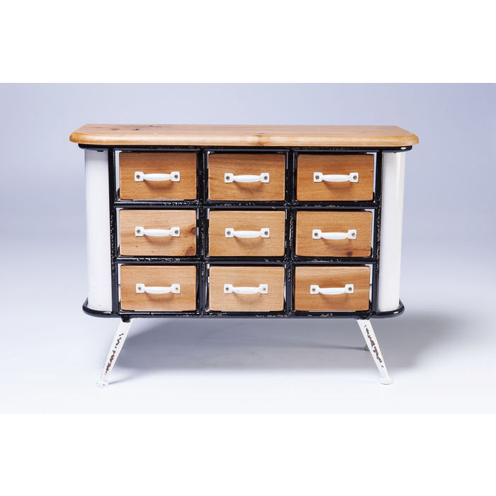 Image of   KARE DESIGN Kabinet Grannys Kitchen Mini 9 Skuffer