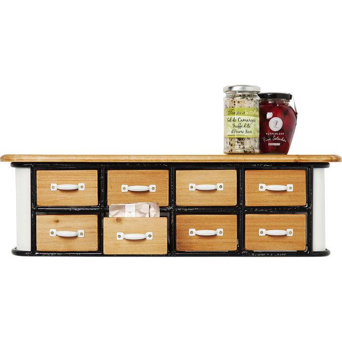 Image of   KARE DESIGN Kabinet Grannys Kitchen Mini 8 Skuffer