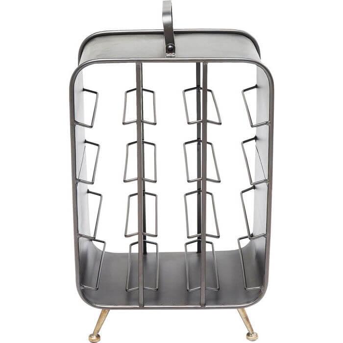 kare design Kare design la gomera vinreol - grå stål, plads til 12 flasker på boboonline.dk