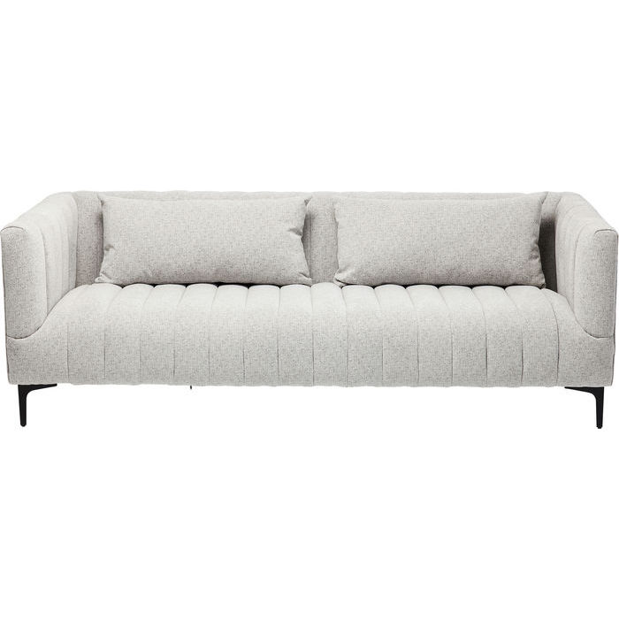 Kare design celebrate 3 pers. sofa - grå stof m. sorte ben fra kare design fra boboonline.dk