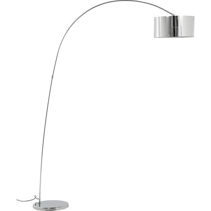Image of   Kare Design Gulvlampe, Gooseneck Krom