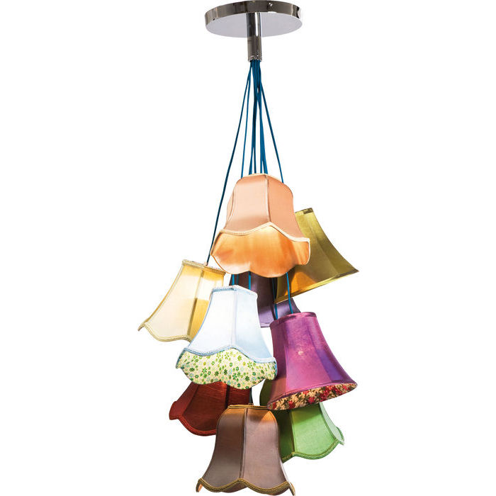Image of   KARE DESIGN Loftlampe, Saloon Flowers 9