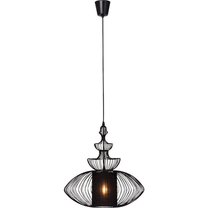Image of   KARE DESIGN Loftlampe, Swing Iron Oval