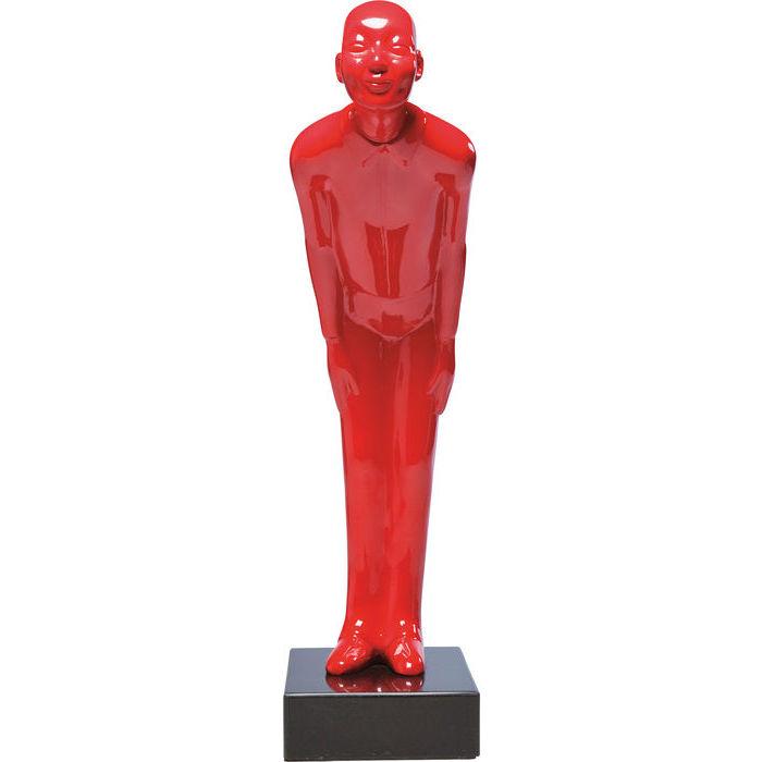 KARE DESIGN Skulptur, Welcome Guests Rød Lille
