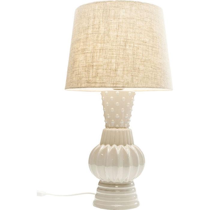 Image of   KARE DESIGN Bordlampe, Cosy Comb Grå