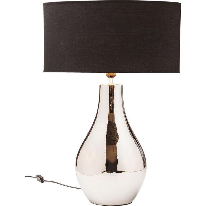 Image of   Kare Design Bordlampe, Drop Gunmetal