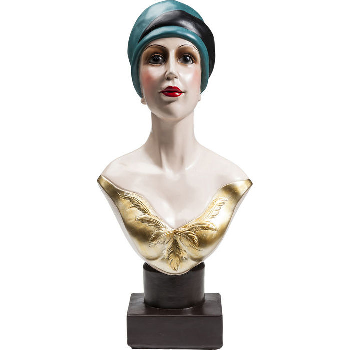 Image of   Kare Design Skulptur, Golden Twenties Lady