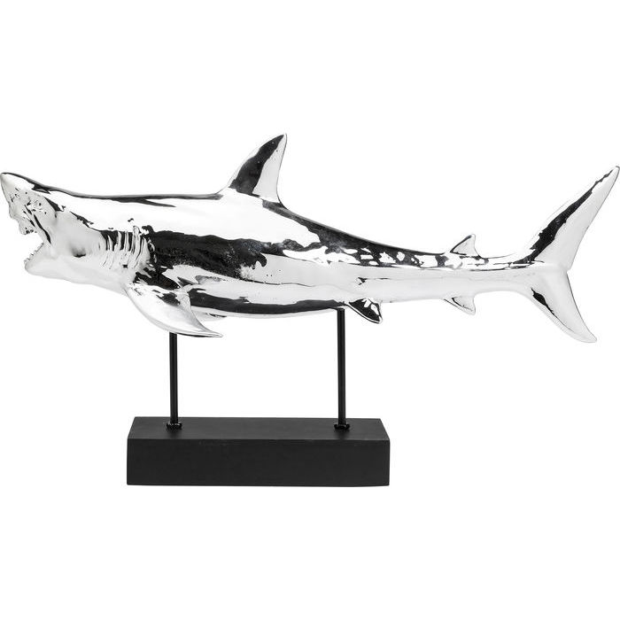 Image of   Kare Design Skulptur, Figurine Shark Krom
