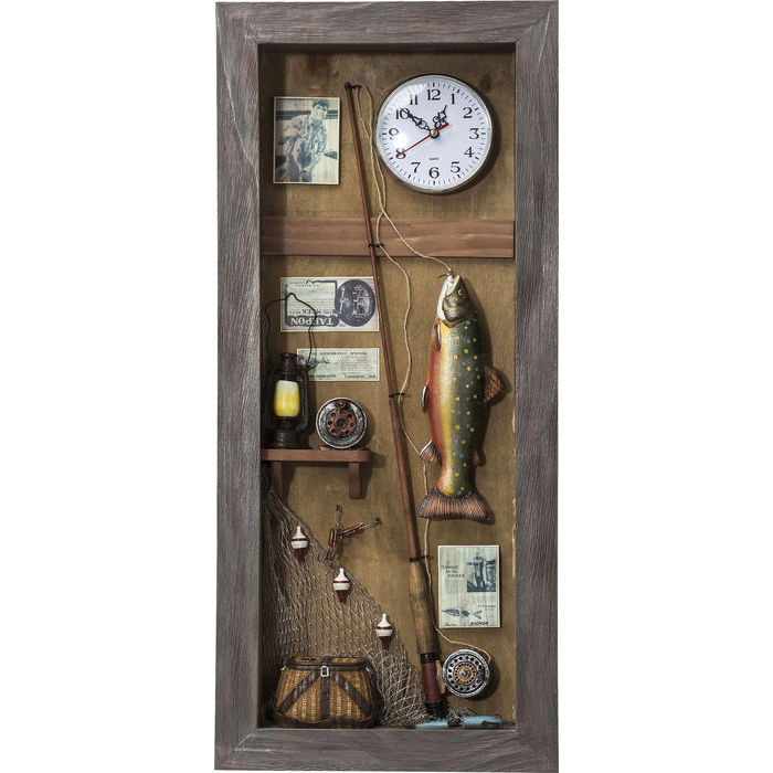Image of   Kare Design Skulptur, Shadow Box Fisherman