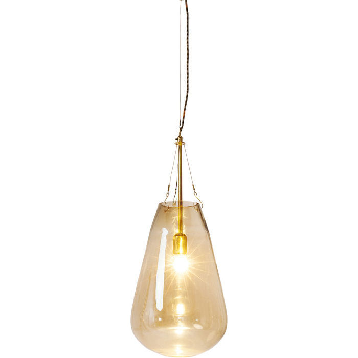 Image of   KARE DESIGN Loftlampe, Dusty Bell Guld Stor