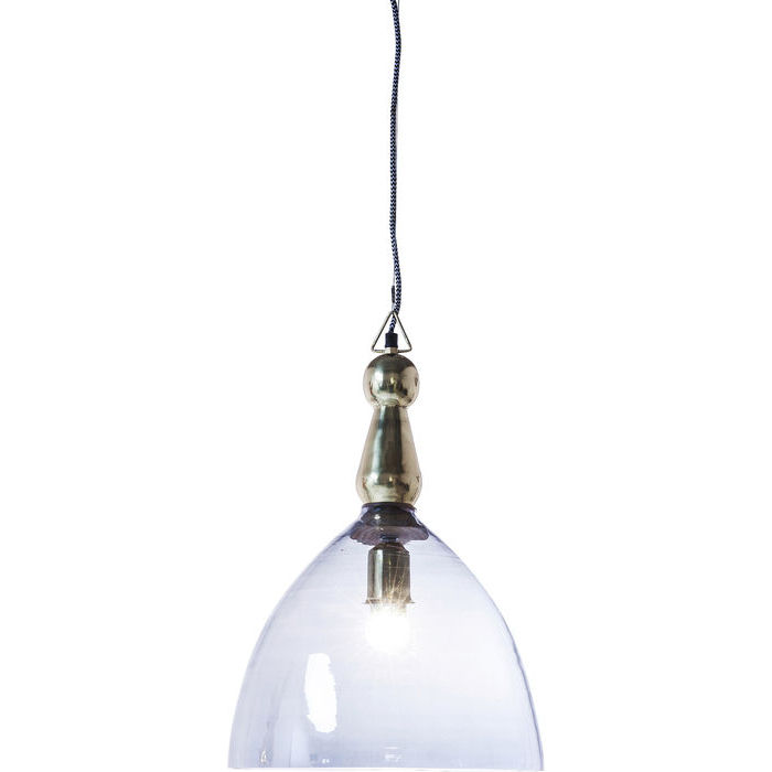 Image of   KARE DESIGN Loftlampe, Dusty Bell Blå 48cm