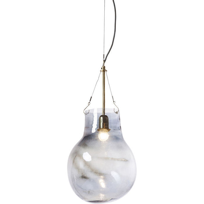 Image of   KARE DESIGN Loftlampe, Dusty Bell Blue Ball